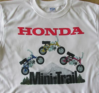 Blue, Yellow, Red Z-50 Honda Mini Trail Graphic T-Shirt - SHARP! - S to 3XL -NEW