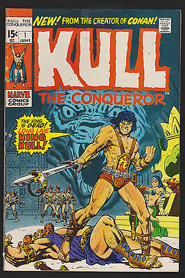 Kull The Conqueror #1, Very Fine Condition!
