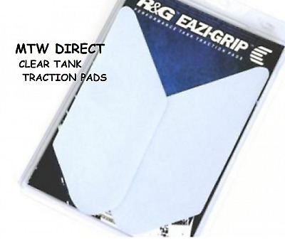 R&G RACING CLEAR TANK TRACTION GRIP PADS for  Kawasaki Z900RS (2018)