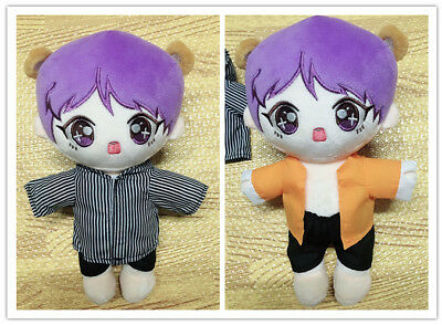 KPOP BTS Plush V TAETAE Doll Toy 20cm Limited with clothes New Kim Tae Hyung