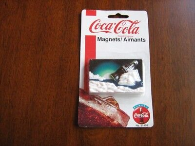 Vintage Coca Cola Magnet 1997 Sealed Retired