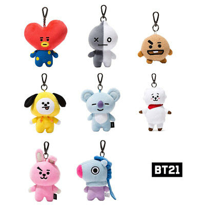 BTS  BT21 Official Authentic Goods Bag Charm Doll  8characters_with tracking num
