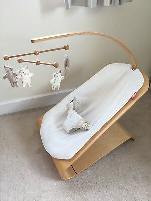 Koto Wooden laminated Baby Bouncer with toy arm ** Fast postage **