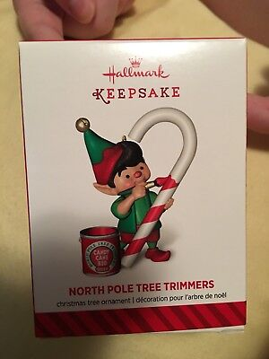 Hallmark Ornament~2014 North Pole Tree Trimmers #2 2nd Second in Series