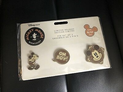 NWT Disney Mickey Mouse Memories Pins April limited edition