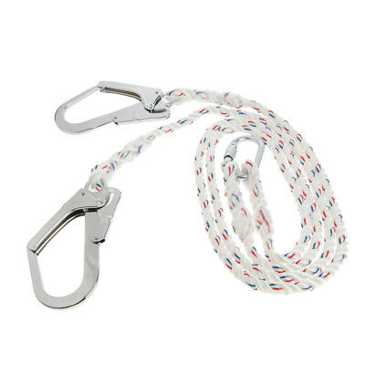 Climbing Safety Lanyard Protector Band Cover Rope Efficiency Sleeve