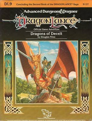 AD&D DL9 Dragonlance  Dragons of Deceit * wie neu/unverblättert