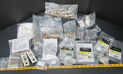 Lot of Assorted Electrical Breaker Hardware & Replacement Parts GE Square D A