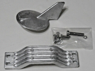 Aluminum Anode Kit For Yamaha Outboards 150 200 HP  6J9-45371 6G5-45251 Mil Spec