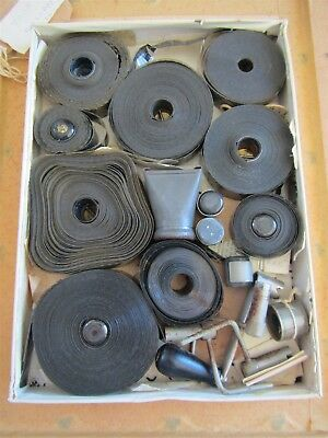 Exposed Movette films - early 1900s - plus camera / viewing parts