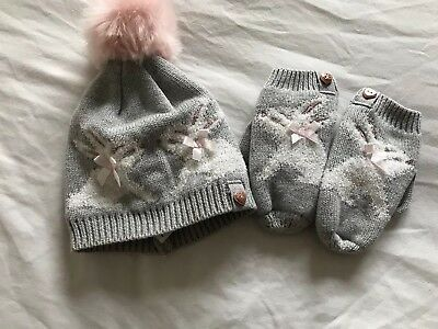 Ted Baker Hat And Glove Set