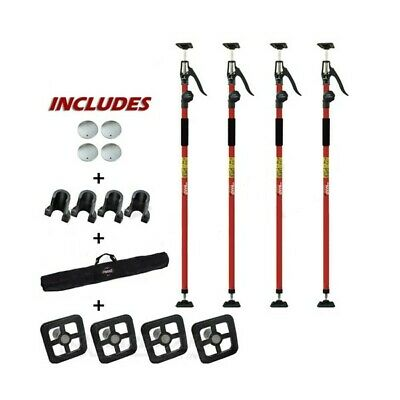 Fastcap 3HANDCPACK 3rd Hand Contractor Poles 4-Pack