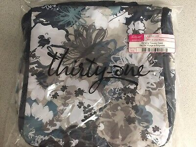 thirty one bags hanging traveler case brushed bloom new 29 99