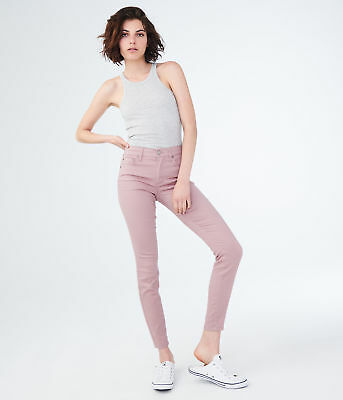 aeropostale womens seriously stretchy high-waisted jegging