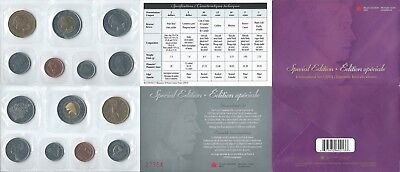 Kanada KMS 1 5 10 25 50 Cents 1 2 Dollars 2003 Uncirculated Set Special E Canada