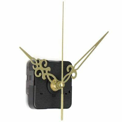 Gold Hands Black DIY Quartz Clock Movement C4Q1