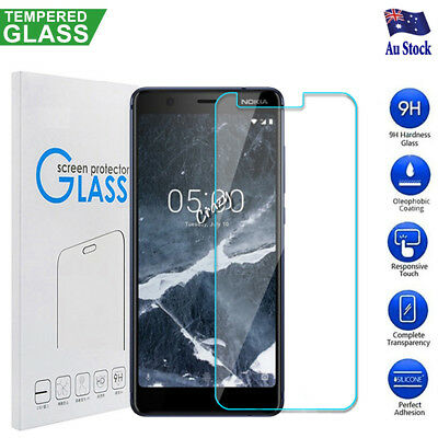 Nokia 3.1 5.1 5.1 Plus 6.1 7.1 8.1 Tempered Glass Screen Protector Film Guard