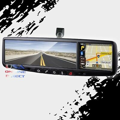 "Rydeen Roadgear 3.5"" Touch Screen Rear View Mirror with GPS Bluetooth Audio Out"
