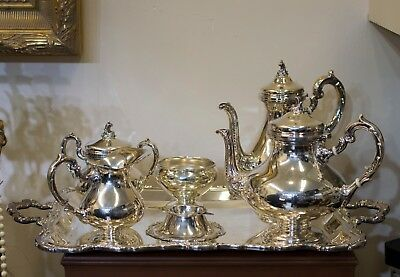 ✨ Camusso 7-Piece Tea Set 925 Sterling Silver ✨💫