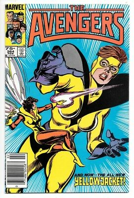 The Avengers #264 (Feb 1986, Marvel) VF+1st App Rita DeMara aka 2nd Yellowjacket