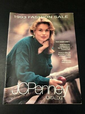 JCPenney Catalog 1993 Fashion Sale Addition Booklet - Mail-order catalog insert