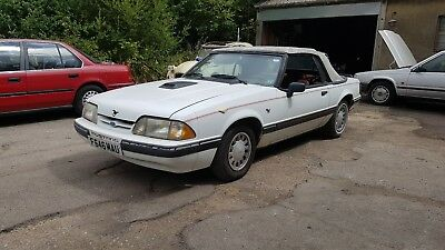 Ford mustang convertible spares or repair / project lhd