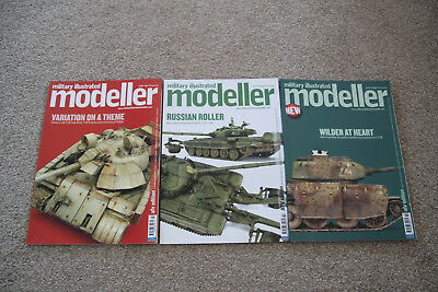 Military illustrated Modeller X 3 Issues