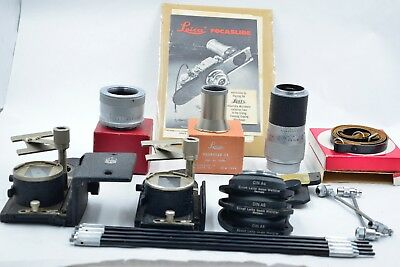 Leica / Leitz Focaslide and BOOWU Copy Stand Set  (406)