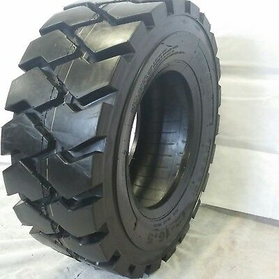 1 NEW 10X16.5 ROAD WARRIOR RS-103 SKID STEER TIRES 14 PLY FOR BOBCAT and OTHERS