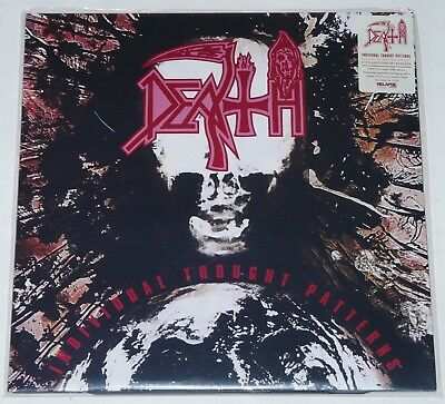 Death Individual Thought Patterns LP New 25th Anniversary DBL Silver Vinyl NEW