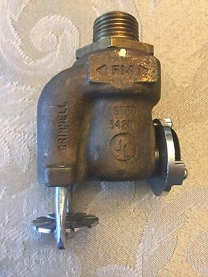 Vintage Grinnell AQUAMATIC F920 Fire sprinkler On/Off RARE Steampunk (FC14-4-A)