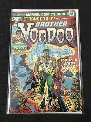 Strange Tales 169 First Appearance Of Brother Voodoo Marvel Comic Book