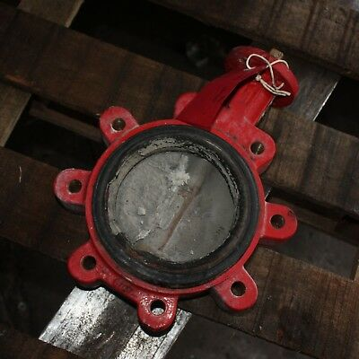 "BRAY CONTROLS 5"" inch DN125 125mm Lugged Butterfly Valve - damaged"