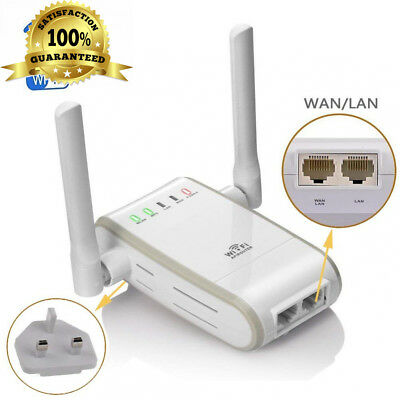 DC XINGDONGCHI Wireless-N 300Mbps WiFi Range Extender Router/Repeater/AP/Wps...