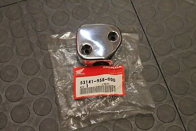 NOS Honda ATC throttle cover chrome  53141-958-000 several models BIN G