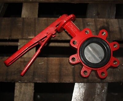 "BRAY CONTROLS Lugged Butterfly Valve 3"" inch DN80 80mm with manual lever"
