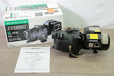 everbilt j200a3 shallow well jet pump