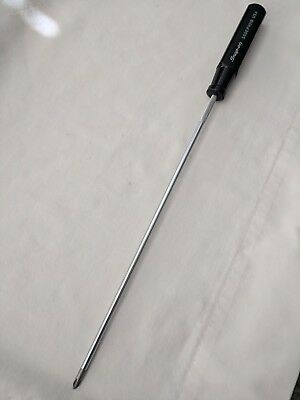 """Snap-On 13-1/2"""" Long, Phillips Screwdriver, ( Ssdep101B ) Made In U.s.a."""