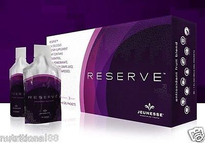 Jeunesse Reserve Botanical High Resveratrol Antioxidant Fruit Blend Gel-30 Packs