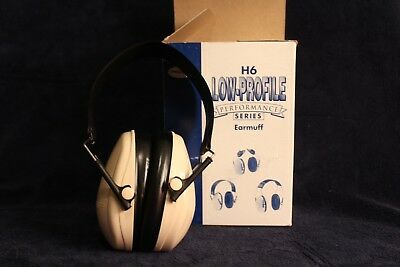 Peltor H6 Low-Profile Performance Series Sound Protection Earmuffs