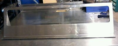 A55  Commercial Stainless Steel Insert Shelf 40' X 9.5' Used