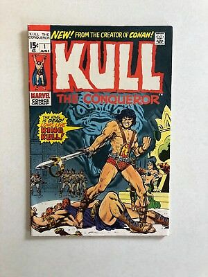 Vintage June 1971 Marvel Comics Group Kull The Conqueror Comic Book No. 1