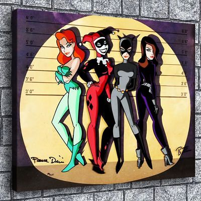 "12""x16Batman Poison Painting HD Print on Canvas Home Decor Room Wall Art Picture"