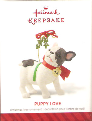 2014  Hallmark Ornament  Puppy Love  #24