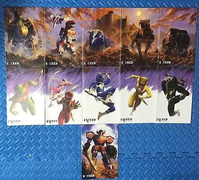 MIGHTY MORPHIN POWER RANGERS Jesse James Exceed VARIANT Set of 11 BOOM Studios