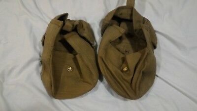WW2 WWII Canadian British South African Pattern 37 Webbing Thompson Lewis Pouch