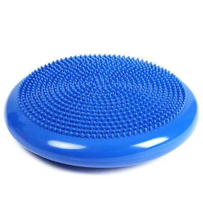 1pcs Stability Yoga Balance Cushion Wobble Air Disc Ankle Exercise  Cushion Mat