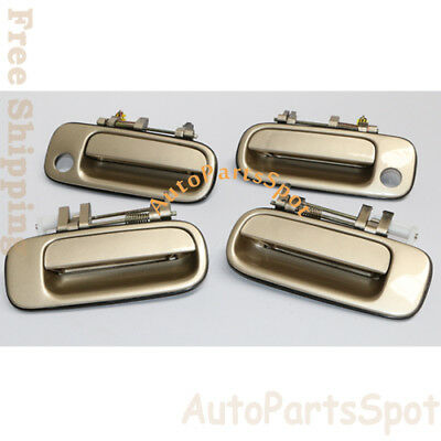 Outside Door handle Front Left Green Pearl 6M1 For 92 93 94 95 96 Toyota Camry