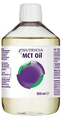 New Nutricia MCT Oil 500mL Medium Chain Triglycerides Medical Nutrician