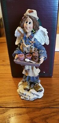Boyds bear folkstone collection, 1997 Mercy...Angle of Nurses